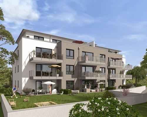 Eigentumswohnung Behringstraße 53 Solingen Gartenansicht