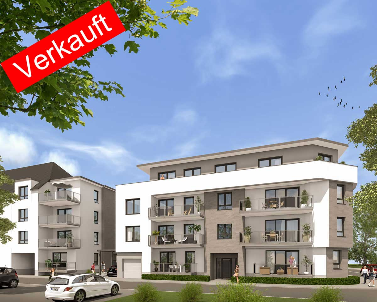 Eigentumswohnungen Daimlerstraße Hilden | BREMER